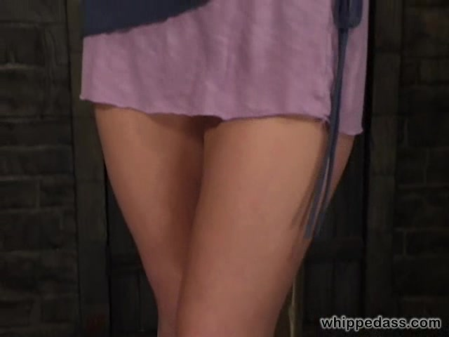 Tied Up Blonde Milf Gets Lezdom Tits Torture In Basement-3053