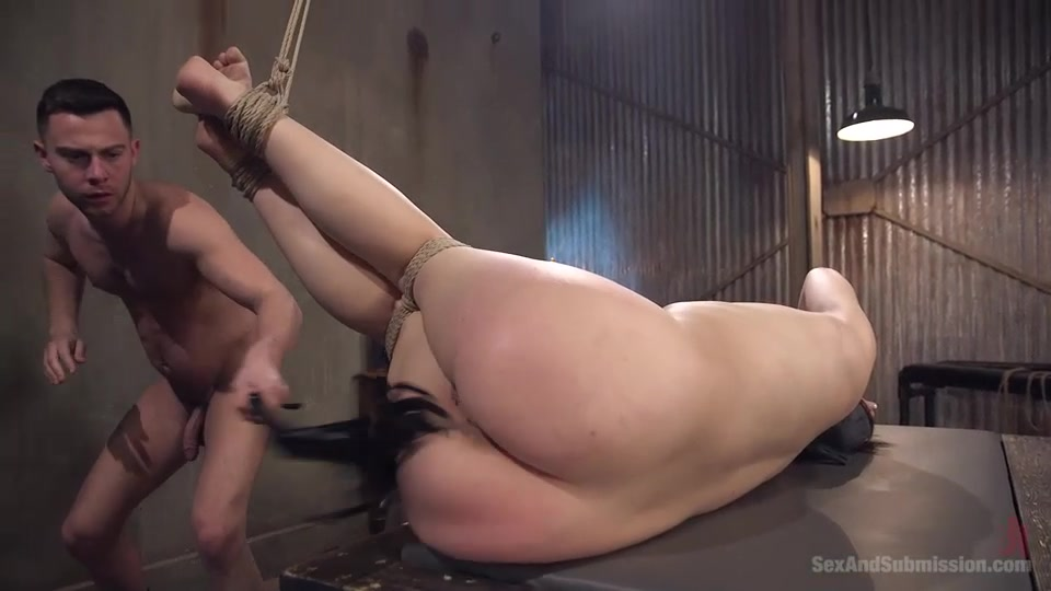Bound Wife Gets Dildo Fucked