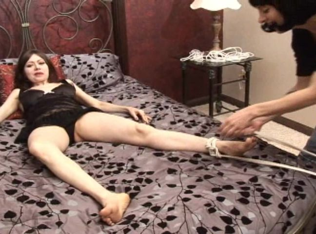 Lesbian Massage Tied Up