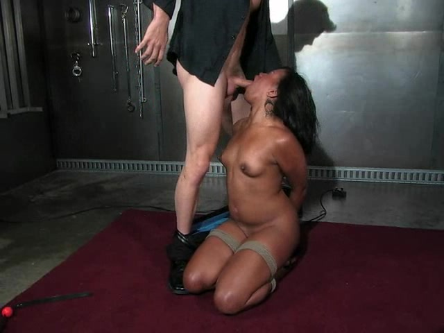 Ebony Sucking Sloppy Dick