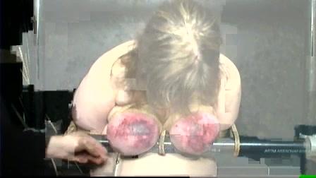 Pain big tits Tit