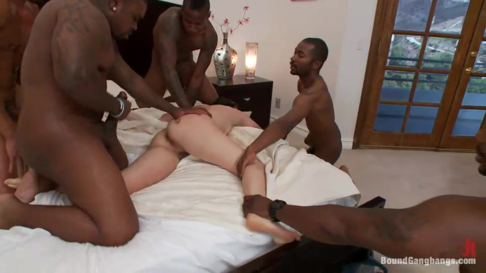 Best of Teen Forced Gangbanged By Blacks