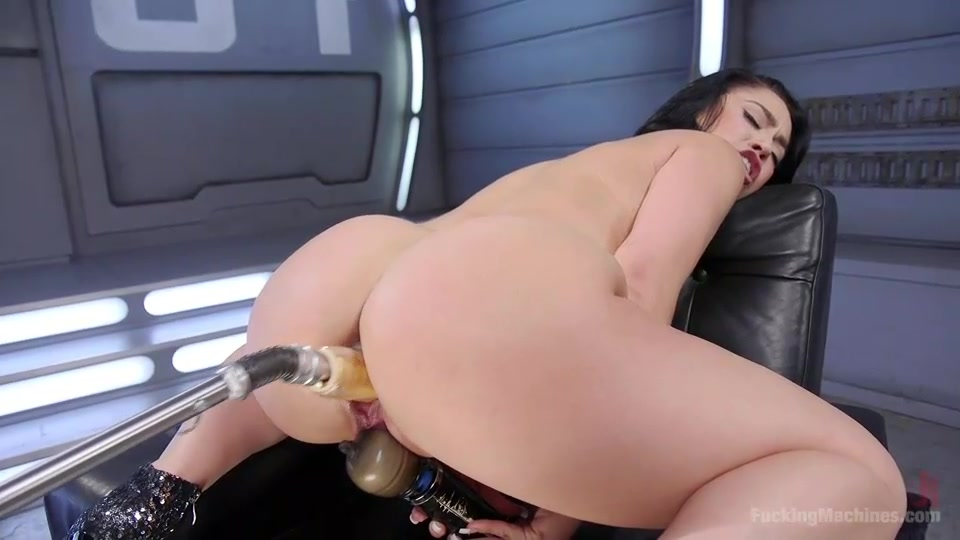 Furious Machine Pussy Fuck For Kristina Rose-6489