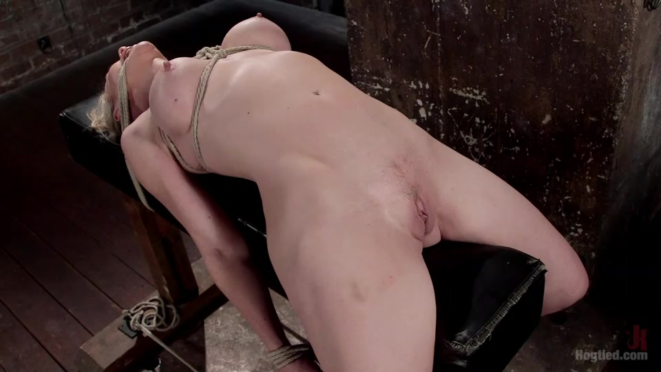 Tied up and fingered