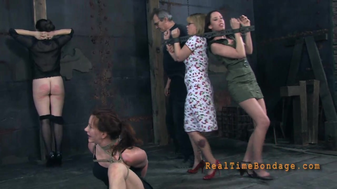 Busty Redhead Milf Is Trying Extremely Painful Spanking-6440