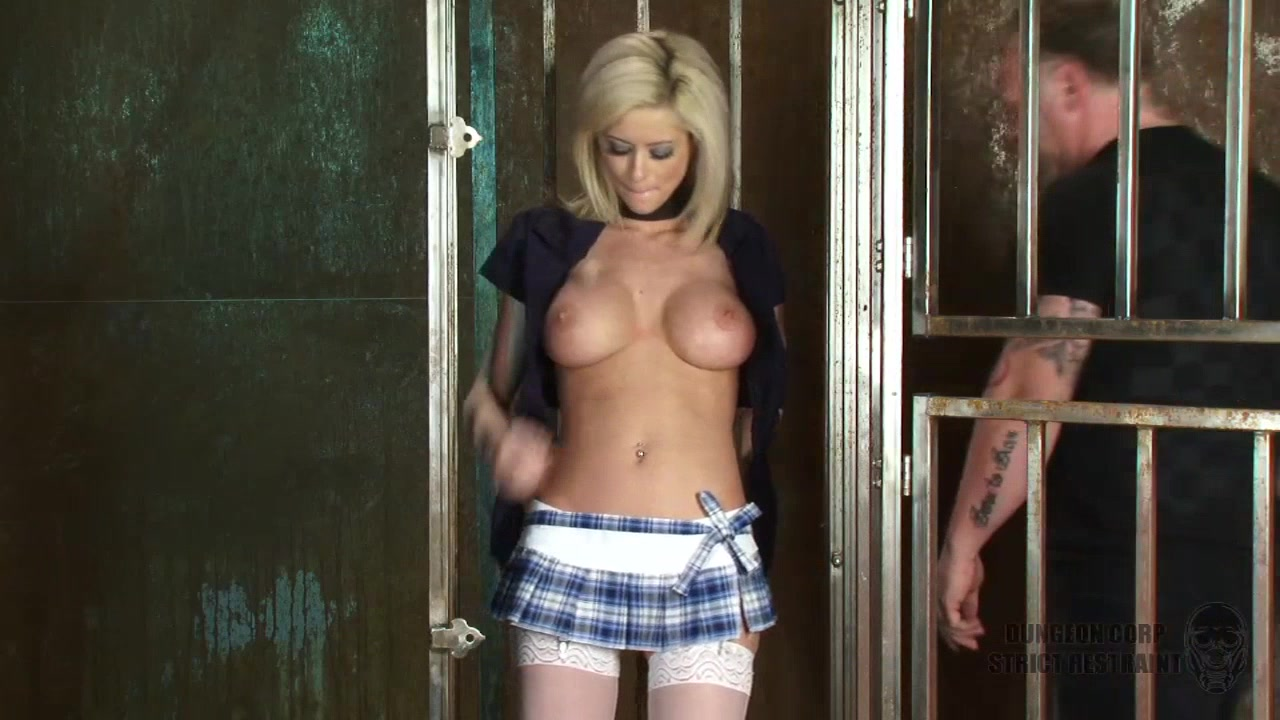 pretty big tits slave in ropes submitted her total bare body