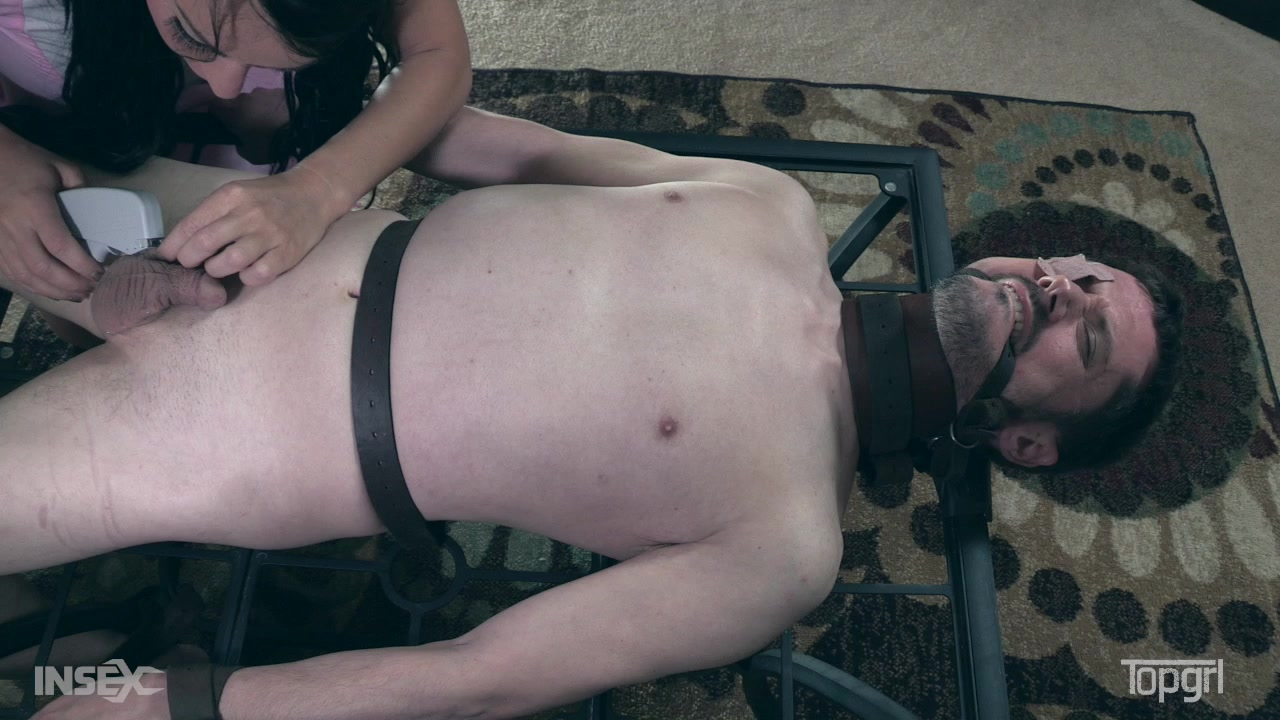 Bdsm men tied up and tortured
