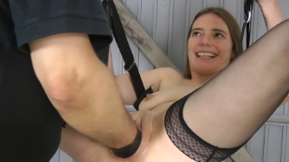 Hot sucking girl s vulva