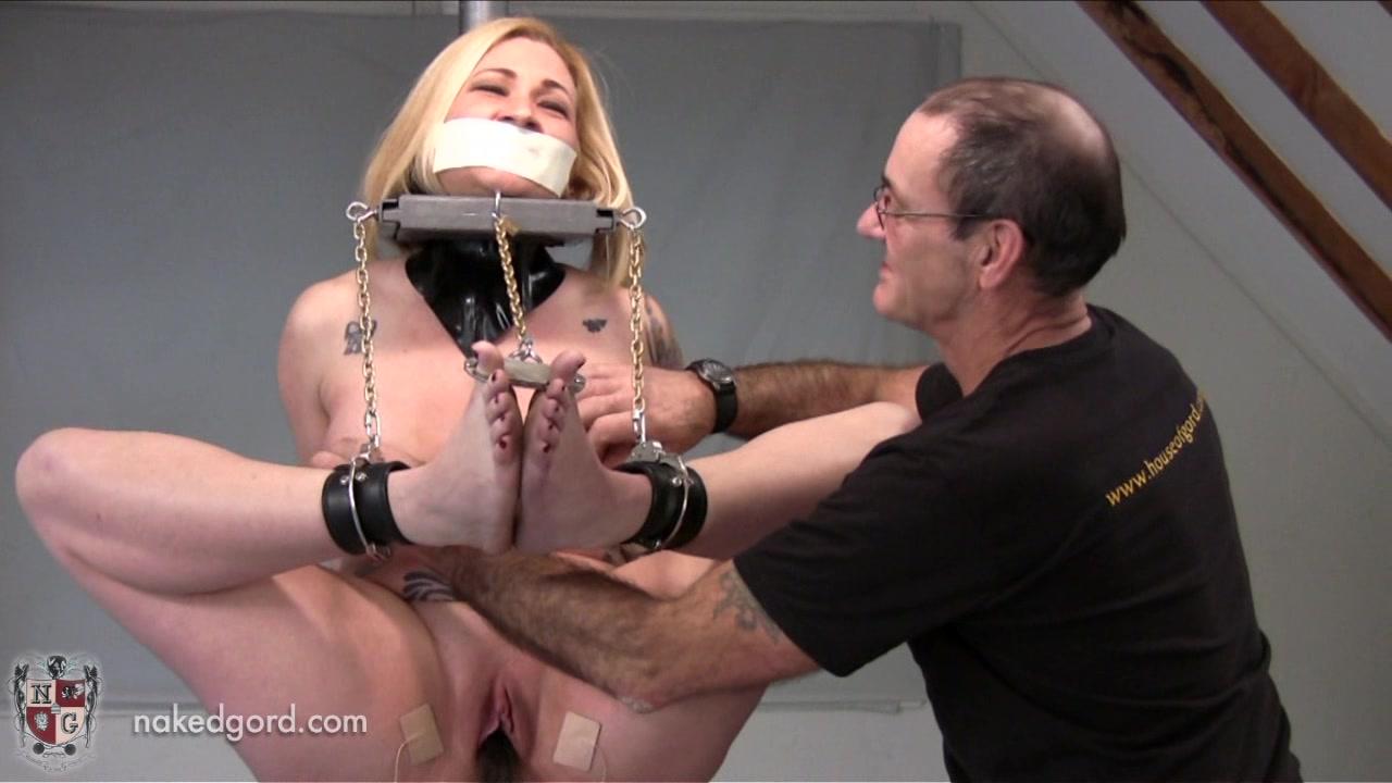 Dildo torture porn